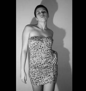 Bershka Bodycon Ruffle Tight Mini Dress Hot Pink